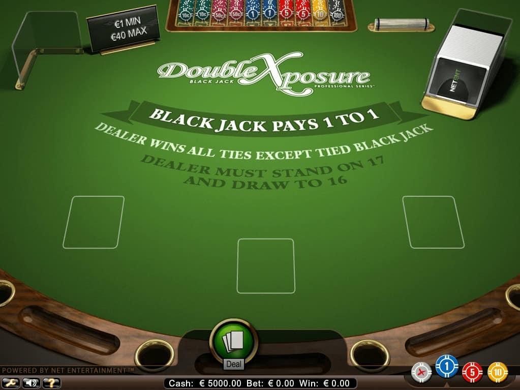 Blackjack Double Exposure van Netent